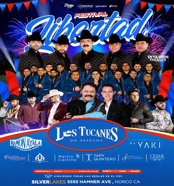Noti Estrellas | Festival Libertad con Los Tucanes de Tijuana